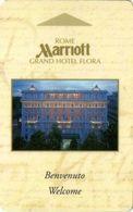 ITALIA KEY HOTEL  Marriott Grand Hotel Flora - ROMA - Hotelkarten