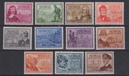 1947 Noruega Norway Norge Aniversario Servicio Postal MNH Valor Catalogo 80€ - Norvège