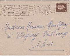 N°692 Seul Sur Lettre De Paris, 28.05.1945 - France
