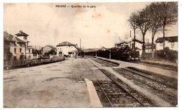Prisse - Quartier De La Gare -   CPA ° - Sonstige Gemeinden