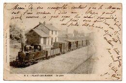 Flace Les Macon - La Gare  -   CPA ° - Sonstige Gemeinden