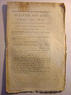 BULLETIN DES LOIS N°17 Du 16 DECEMBRE 1830 - LOI SUR LES RECOMPENSES NATIONALES - Decrees & Laws