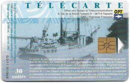 French Polynesia - OPT - 40e Anniv. Du Port Autonome, Gem1A Symmetr. Black, 01.2002, 30Units, 55.000ex, Used - Polinesia Francese