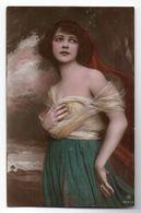 CPA - JEUNE FEMME - DEBOUT - Colorisée - Années 30 - - Femmes