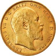 Monnaie, Australie, Edward VII, Sovereign, 1904, Perth, TTB+, Or, KM:15 - Andere
