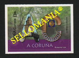 2020 A CORUÑA 12 MONTHS 12 STAMPS CAMINO SANTIAGO ROAD HERCULES ** MNH TC23667 - 2011-... Unused Stamps