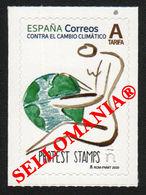 2020 CONTRA EL CAMBIO CLIMATICO PROTEST STAMPS CLIMATE CHANGE     ** MNH TC23727 - 1931-Oggi: 2. Rep. - ... Juan Carlos I