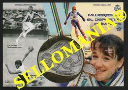 2020 BLANCA FERNANDEZ OCHOA SKI OLYMPIC WOMEN OLIMPAIDAS ESQUI  ** MNH TC23736 - 1931-Oggi: 2. Rep. - ... Juan Carlos I