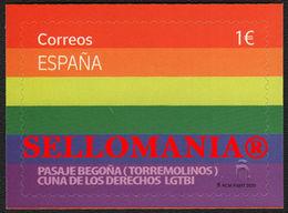 2020 ORGULLO LGTBI PASAJE BEGOÑA TOPRREMOLINOS   ** MNH TC23741 - 1931-Oggi: 2. Rep. - ... Juan Carlos I