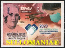 2020 ENFERMERAS Y MATRONAS ELVIRA LOPEZ MOURIN NURSES MIDWIVES ** MNH TC23744 - 1931-Oggi: 2. Rep. - ... Juan Carlos I