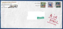USA UNITED STATES OF AMERICA  POSTAL USED AIRMAIL COVER TO PAKISTAN - Amerika (Varia)
