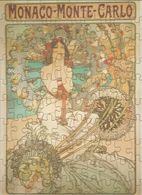 Ancien Puzzle MUCHA Avec Affiche - Editions Larousse - 22,5 X 31 Cm  - Sous Blister D'origine (Non Déballé)B - Puzzles