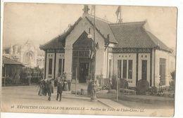 CPA, Th.Expo. N°38, Exposition Coloniale De Marseille ,Pavillon Des Forêts De L' Indo-Chine Ed. LL., 1906 - Exhibitions