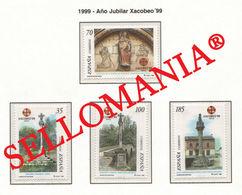 1999 AÑO SANTO COMPOSTELANO CAMINO SANTIAGO WAY XACOBEO 3617 / 20 ** MNH TC22220 - 1981-90 Unused Stamps
