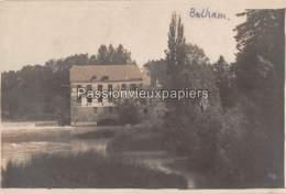 CARTE PHOTO ALLEMANDE BALHAM 1917 MOULIN (MÜHLE MOLEN) - Other Municipalities