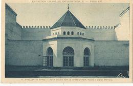CPA, Th.Expo. N°38, Exposition Coloniale Internationale , Paris 1931 ,Pavillon Du Maroc .... Ed. Braun,1931 - Exhibitions