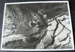 1936  _  BOMBARDAMENTO   ITALIANO   IN   AFRICA  _  FOTO ORIGINALE  15  X  20  Cm. - Guerra, Militari