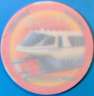 $5 Casino Chip. Bally's, Las Vegas, NV. O54. - Casino