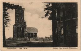 Seebach Hornisgrinde (Berg, Turm) Höchster Punkt Schwarzwald 1920 - Achern