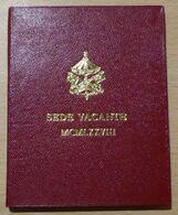 CITE DU VATICAN FOLDER SEDE VACANTE 1978  500 LIRE EN ARGENT - Vatican