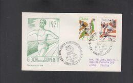 ITALY, FDC, SPORT, CYCLING, ATHLETICS BASKETBALL SKIING HANDBALL ** - Stamps