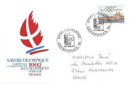 """1985 """" Olymphilex"""" Exposition Olympique à Lausanne + Candidature D'Albertville Aux Jeux Olympiques D'Hiver 1992 - Giochi Olimpici"""