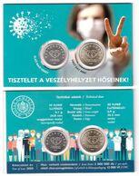 Hungary - 10 + 20 Forint 2020 UNC Covid-19 In Folder Comm. Lemberg-Zp - Ungarn