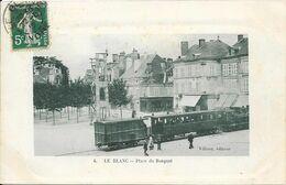 Le Blanc Place Du Bosquet TB état - Le Blanc