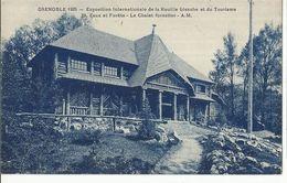 CPA,Th.Expo. N°29, Grenoble 1925,Exposition Internationale De La Houille Blanche Et Du Tourisme ,.Ed. A.B. 1925 - Exhibitions