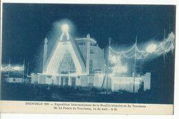 CPA,Th.Expo. N°152 ,Grenoble 1925,Expo. Inter.de La Houille Blanche Et Du Tourisme, Le Palais Du Tourisme ,,Ed. A.M.1925 - Exhibitions