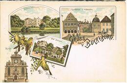 Litho Gruß Aus Bückeburg Um 1900 - Bückeburg