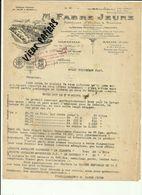 13 - Bouches Du Rhone - Salon - Marseille - Facture Fabre Jeune  -  Huiles - Savons   -1947 - Réf.44. - France