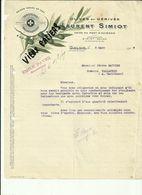13 - Bouches Du Rhone - Salon - Facture Laurent Simiot - Olives   -1919 - Réf.44. - France