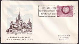 Belgique - 1962 - Cachets Spéciaux - FDC - Centre Européen De La Pierre De Taille - A1RR2 - Gebruikt