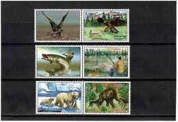 Tajikistan 2020 . Eagle,Hare,Bears,Fish,Dog. 3v+ Label :5.00,5.80,6.80 - Tadschikistan