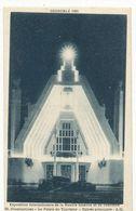 CPA,Th.Expo. N°68,Grenoble 1925,Expo. Inter.de La Houille Blanche Et Du Tourisme, Illuminations -le Palais, Ed. A.M.1925 - Exhibitions