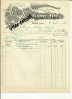 13 - Bouches Du Rhone - Salon - Facture Gamel Ainé  - Huiles - Savons   -1911 - Réf.44. - France