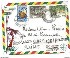 242 - 38 - Enveloppe Envoyée Du Cameroun En Suisse - Cameroon (1960-...)