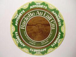 GG007 - Grande étiquette De Fromage RACLETTE LES AFFORETS - UCAL LUCON 85F Vendée - Cheese