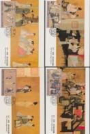 CHINA 1991, 2 Series MAXICARD, FD-cancellation, Cards Unused - 1949 - ... République Populaire