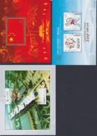 CHINA 2009/10, Souvenir Sheets Nr. 157, 159, 161, 164, Unmounted Mint - 1949 - ... République Populaire