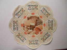 GG010 - Grande étiquette De Fromage - FROMAGE A RACLETTE - GLAC - SURGERES Charente-Maritime - Cheese