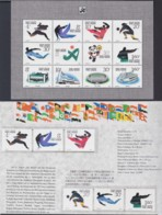 """CHINA 1990, """"Asian Games (III), Block 53 + Serie On Description-sheet (german Language) - 1949 - ... République Populaire"""