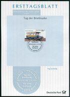 BRD - 2005 ETB 15/2005 - Mi 2456 - 55+25C  Tag Der Briefmarke, 100 Jahre Kraftpost - [7] República Federal