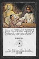 Santino/reliquia/holycard/relic: S. RICCARDO PAMPURI - Religion & Esotericism