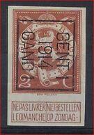 Nr. 109  Typo 51 B GENT I 1914 GAND I - ONGETAND / NON DENTELEE ; Staat Zie Scan ! - Vorfrankiert
