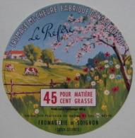 Etiquette Fromage - Le Préféré - Fromagerie Coopérative De Soignon 79 Poitou - Deux-Sèvres   A Voir ! - Cheese