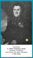 Santino/reliquia/holycard/relic: Ven. P. PIETRO FRANCESCO JAMET - Religion & Esotericism