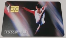 Télécarte - LA GYMNASTIQUE - Sport