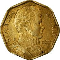 Monnaie, Chile, 5 Pesos, 1992, Santiago, TTB, Aluminum-Bronze, KM:232 - Chili